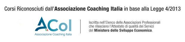 corsi riconosciuti dall associazione coaching italia in base alla legge 4/2013