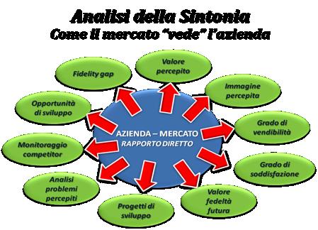 Azienda che Ascolta il Mercato - Analisi della Sintonia