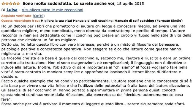 LIBRO - Migliora la tua Vita! Manuale di Self Coaching (Angelo Bonacci)