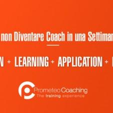 Non si diventa Coach in una Settimana!