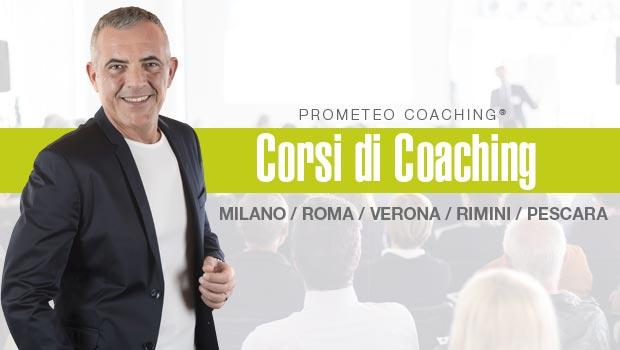 Corsi di Coaching a Milano, Verona, Roma, Rimini