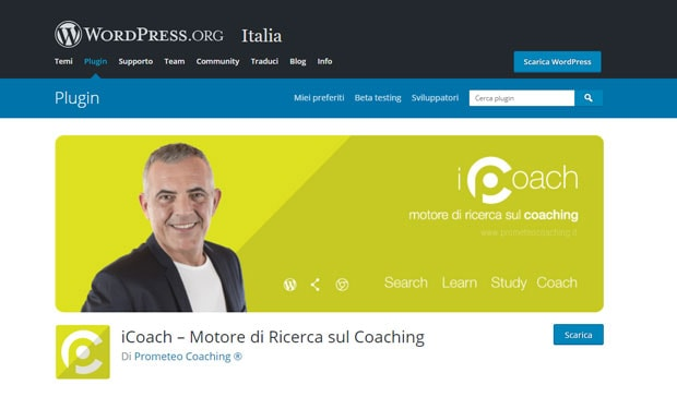 icoach plugin wordpress sul coaching