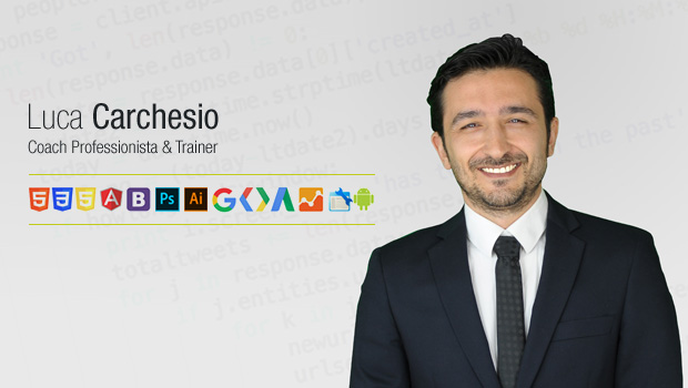 luca carchesio trainer della specialistica di marketing e commerciale