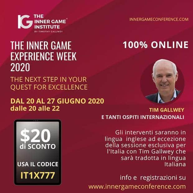 The Inner Game Experience Week 2020